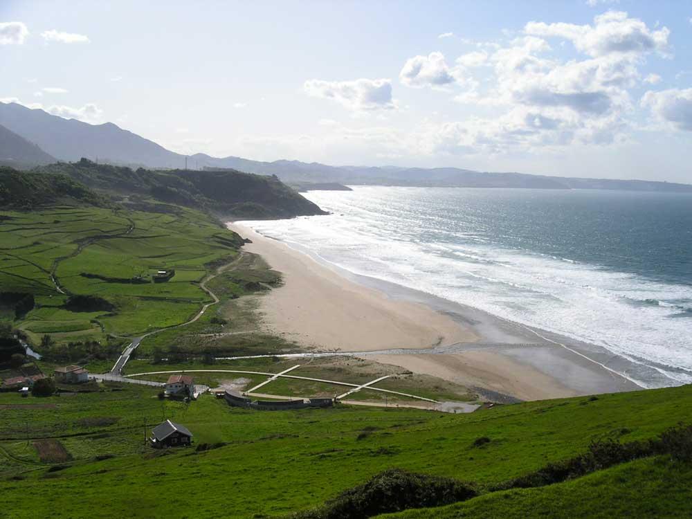 Entorno Ribadesella Camping Playa De Vega Asturias Camping En Asturias Playa De Vega En Ribadesella